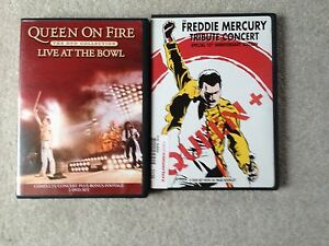 Queen and Freddie Mercury Tribute DVDs