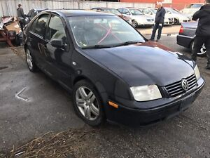 2003 VW Jetta MK4 Complete Part Out