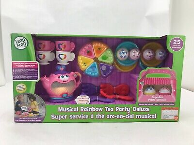 Leap Frog Musical Rainbow Tea Party Deluxe Set (Toy342)