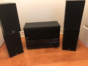Full 5.1 Surround System with Sony Subwoofer