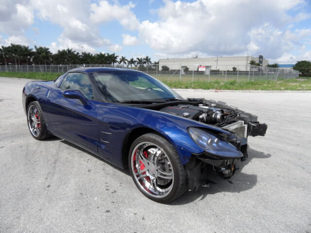 listing expired 2007 blue corvette z51 for sale miami florida dealer. Black Bedroom Furniture Sets. Home Design Ideas