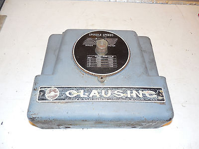 Clausing 15 Drill Press Face Plate Step Pulley Fits 151617 Series