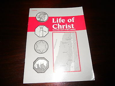 ABeka LIFE OF CHRIST FLANNEL MAP STUDY SERIES content same as current key!