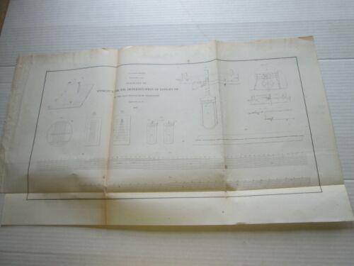 (1) 1856 U S C. & G. SURVEY CHART: APPARATUS FOR THE DETERMINATION OF LONGITUDE