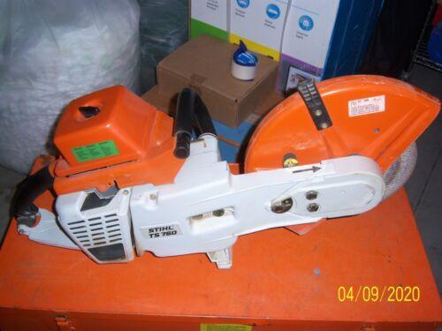 STIHL TS 760 CONCRETE SAW AND METAL CASE