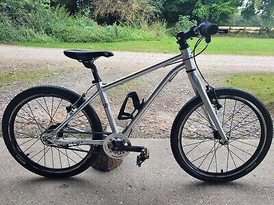 Ritchey Early Rider Belter20 inch Kids Bike in Brushed Aluminium