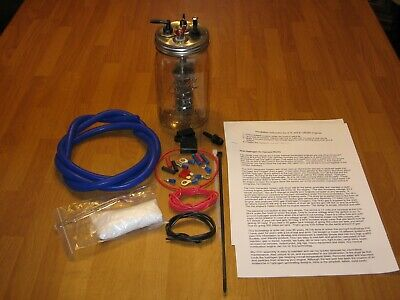 HHO 1 Cell Hydrogen Generator with Kit for 4, 6, and 8 Cyl Gas and Diesel Engine