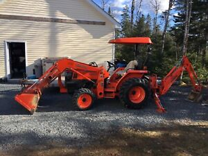 2006 Kubota L3400 with only 220 hours