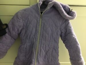 Purple Winter Jacket Sz 5 - 6