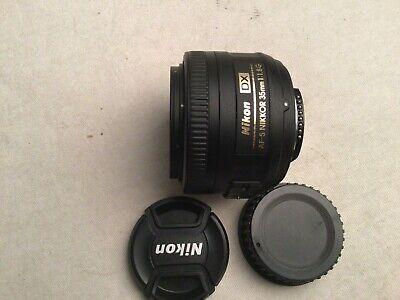 Nikon NIKKOR 35mm f/1.8 AF-S DX M/A RF Lens