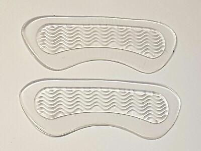 2 Stück Gel Fersenkissen Fersenpolster High Heels und Schuhe Fersen Geleinlagen  - 2 Stück Polster