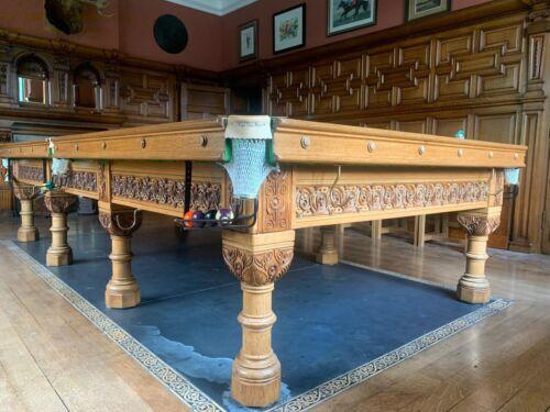 Antique Arts and Crafts Aesthetic Movement Billiard Snooker Table Talbert Dresser