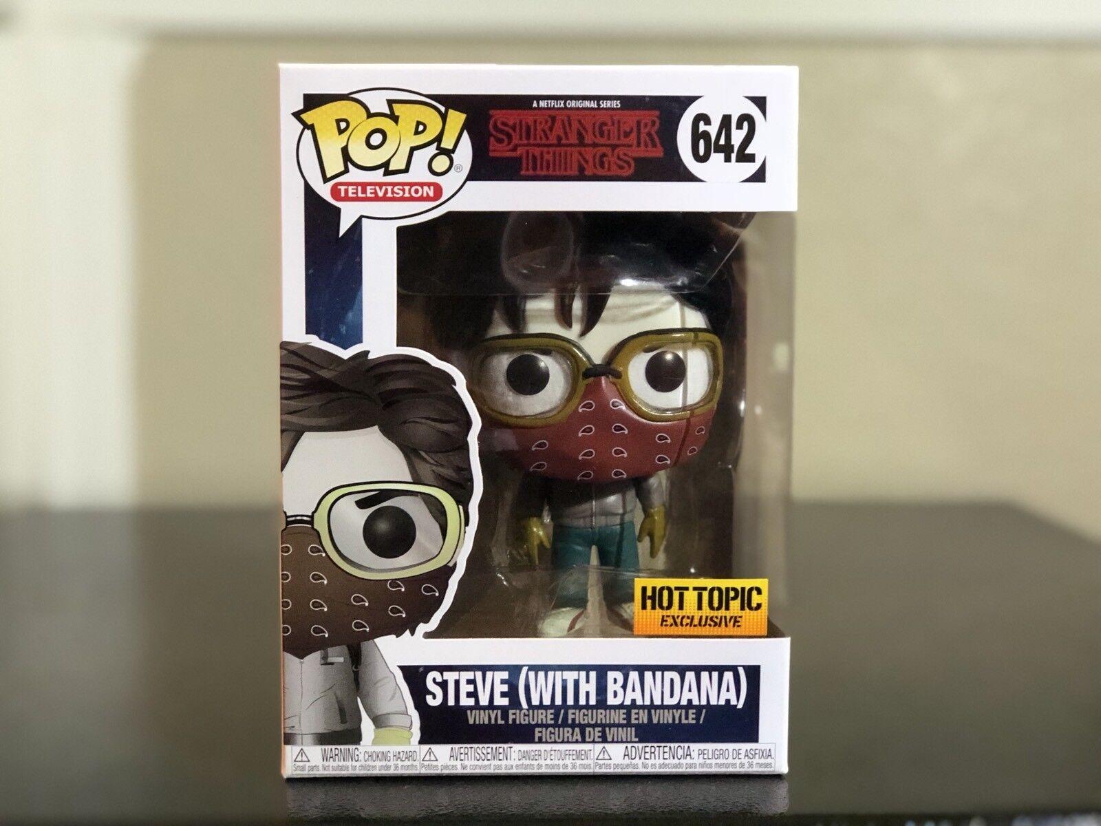 Steve Vinyl Figure Item #38535 Funko Pop Television Stranger Things