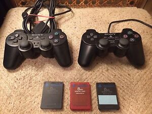 Ps2 controllers / PlayStation 2 memory cards and more