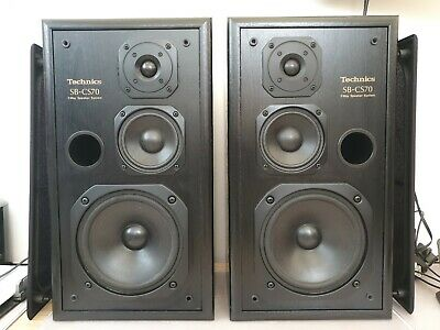 Technics SB-CS70 Hi-Fi Speakers Hifi Loudspeakers 3 Way Output SBCS70 Working