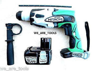 Hitachi Dh18dl 18v Sds Rotary Hammer Drill Ebm1830 Battery 18 Volt Hammerdrill
