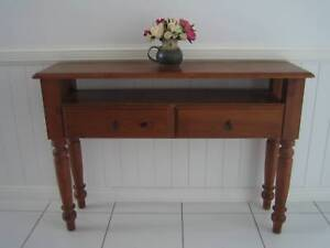 BRAND NEW HALL SOFA TABLE BUFFET DESK WITH METAL DRAWER RUNNERS