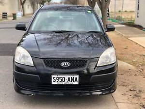 2006 KIA RIO MANUAL 214K KMS COLD AIR COND ALLOY WHEELS 3 MONTHS REGO Torrensville West Torrens Area Preview