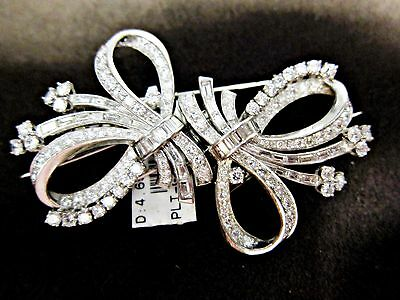 DIAMOND ANTIQUE PIN AND HAIR PIECE