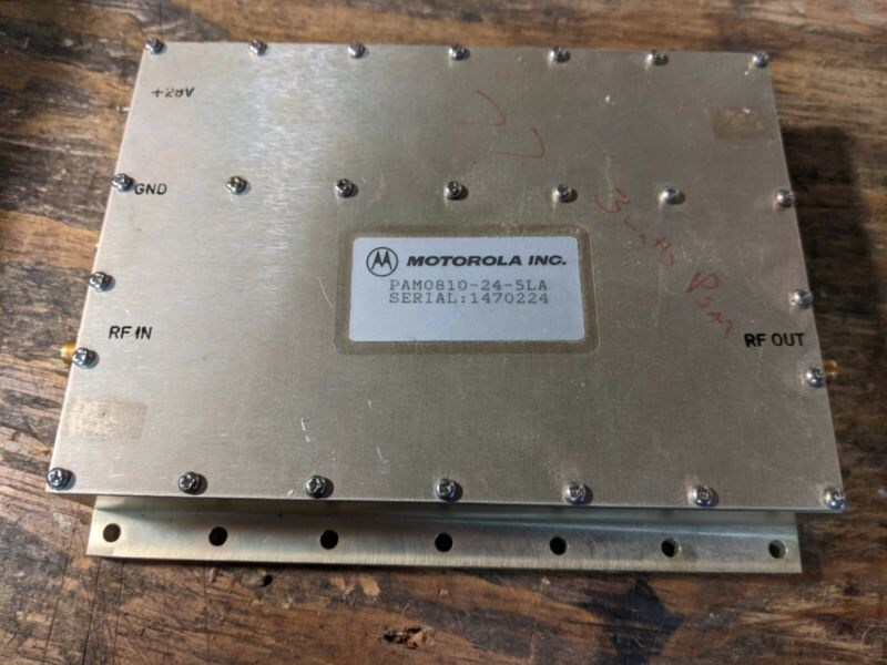 Motorola linear amp PAM0810-24-5LA