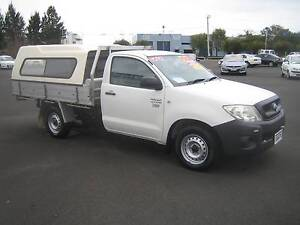 2009 Toyota Hilux Work Mate 2.7i Automatic 2WD Tray Top Busselton Busselton Area Preview