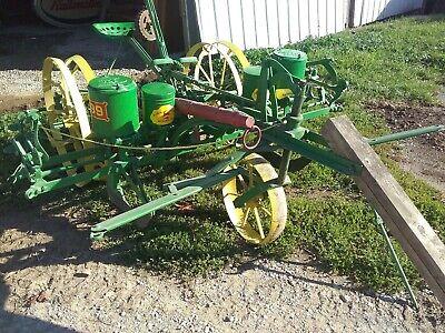 Antique 2 Row John Horse Drawn Corn Planter 999t