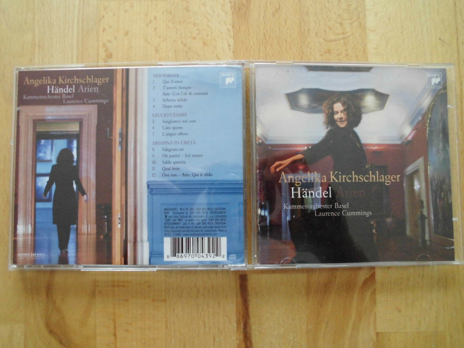 Angelika Kirchschlager singt Händel Arien ,, CD von 2006