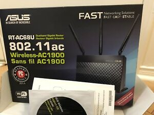 Asus RT-AC68U Wireless AC1900 Dual-Band Gigabit Router