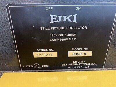 Overhead Projector Eiki 3850 A