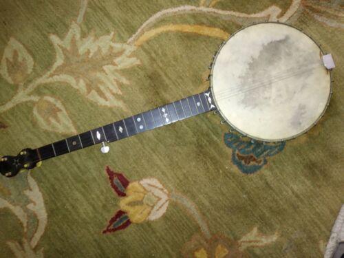 W.A. Cole maker 5 string Banjo Sn# 1250 RARE