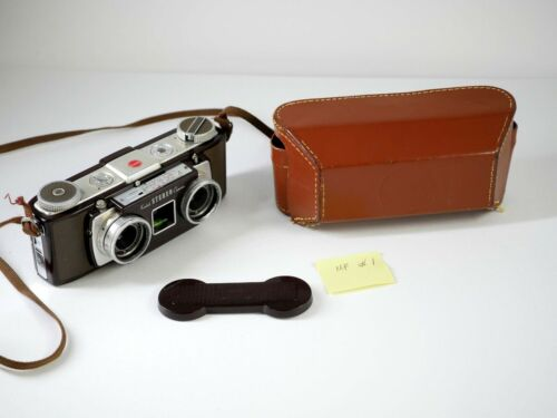 KODAK Stereo camera - serviced by C. Piper - tested by DrT - decent speeds - MF
