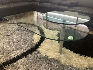 Retro Glass Coffee Table-Great Condition!