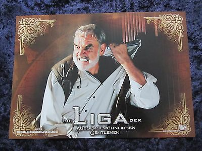 The League Of Extraordinary Gentlemen Lobby Cards - Sean Connery - set of 10