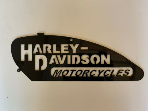 "13"" Harley Davidson Metal Wall Art"