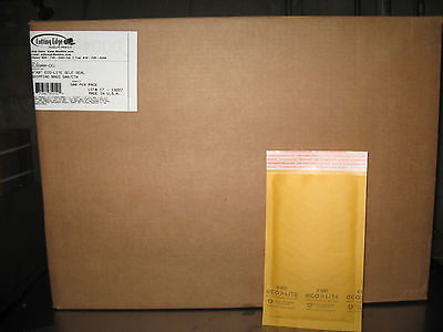 000 Ecolite Kraft Bubble Mailers 4 X 8 1000 Per Order W Free Shipping