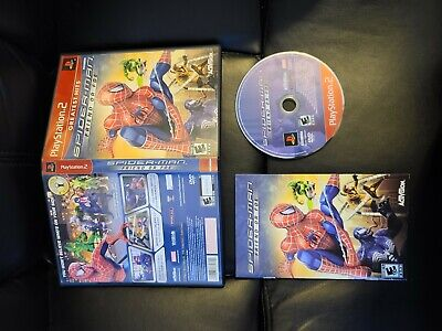 Spiderman Friend or Foe  PS2 COMPLETE FAST FREE SHIPPING