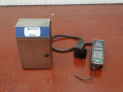 Domino C600i Inkjet Printer Coder Head And Base100-240vac 50-60hz 2.5a