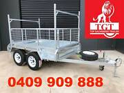 8X5 TANDEM TRAILER WITH LADDER RACKS HEAVY DUTY 2000KG ATM Collingwood Yarra Area Preview