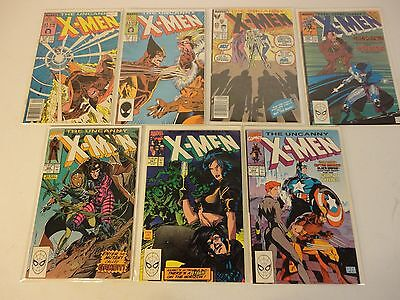 1 UNCANNY X-MEN COMIC GRAB BAG READ BELOW X-MEN 266 1st GAMBIT! 244 1st JUBILEE!