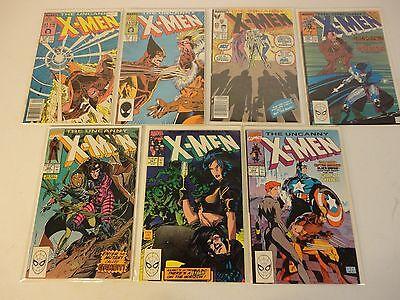 1 Uncanny X Men Comic Grab Bag Read Below X Men 266 1St Gambit  244 1St Jubilee