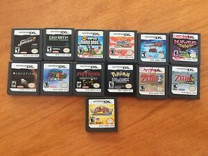 DS games Prices listed below