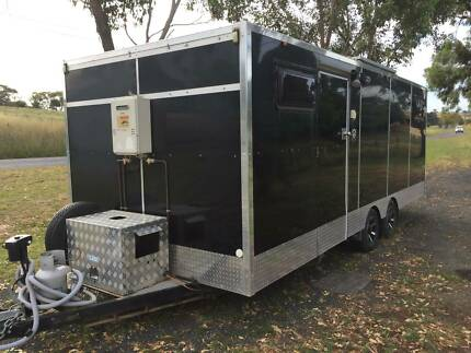 TOY HAULER/CARAVAN for MOWING BUSINESS,MOTORCYCLES,  OR SMALL CAR Millthorpe Blayney Area Preview