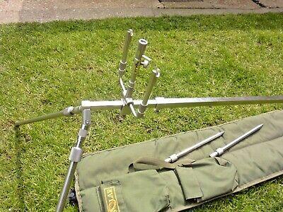 Solar Globetrotter Rod Pod, Original + Tri Post & Long Legs Carp Fishing Tackle