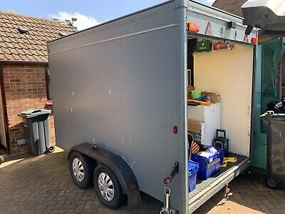indespension box trailer Blue Line Ifor Williams Motor Cross Ktm Mini Stock