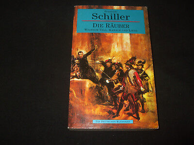 Friedrich Schiller - DIE RÄUBER , Wilhelm Tell , Kabale und Liebe, gebraucht gebraucht kaufen  Versand nach Austria