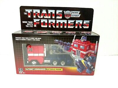 Transformers Optimus Prime G1 2018 Walmart Exclusive Autobots Reissue