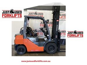 TOYOTA 8FG25 42935 2.5 TON 2500 KG CAPACITY LPG GAS FORKLIFT 4500 MM 2 STAGE Strathfield Strathfield Area Preview