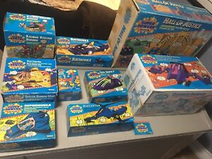 Vintage 1980s Kenner Super Powers Boxes