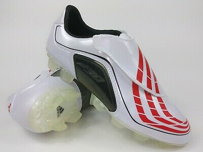 Adidas Soccer Boots (Adidas Mens Rare F30.9 TRX FG 663474 White/Red/Black Soccer Football Cleat Boots )