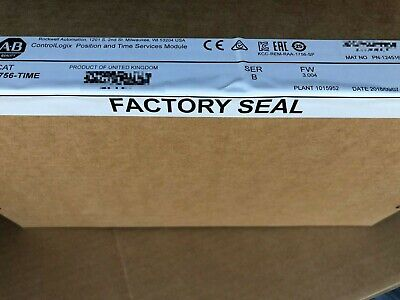 Factory Sealed Allen Bradley 1756-time Gps Date 2018 Hiprom 1756hp-time